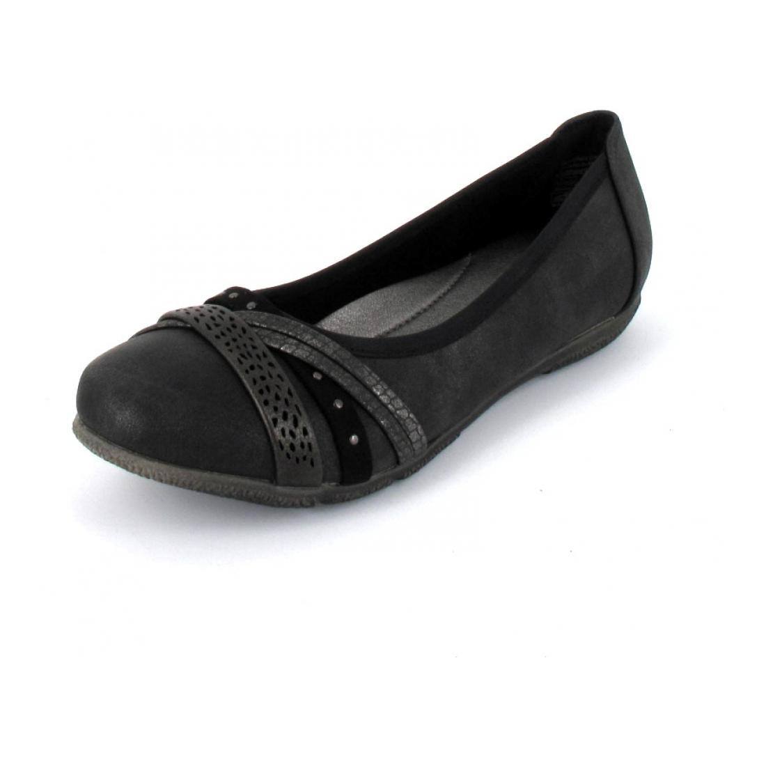 Jane Klain Ballerina black