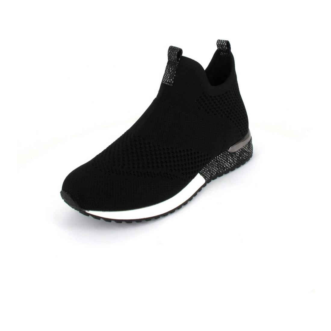 La Strada Sneaker Mid high knitted
