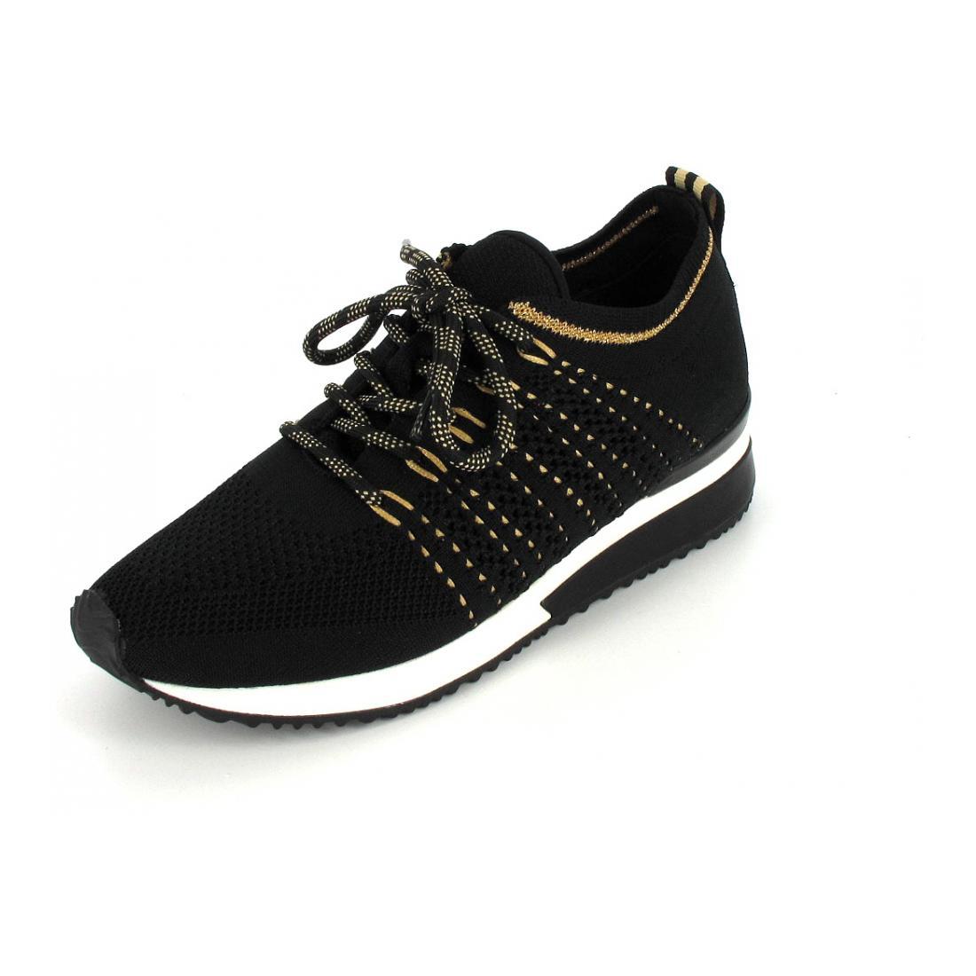 La Strada Sneaker Black Knitted