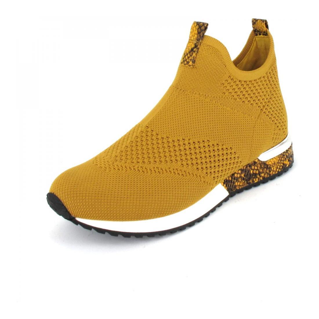 La Strada Sneaker Mid high knitted sneaker