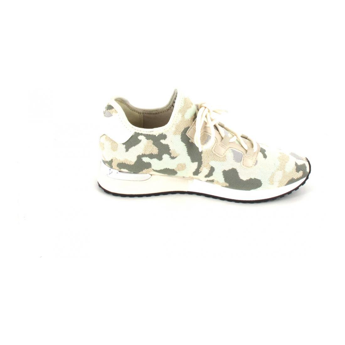 La Strada Sneaker Camouflage Lt Kaki Beige