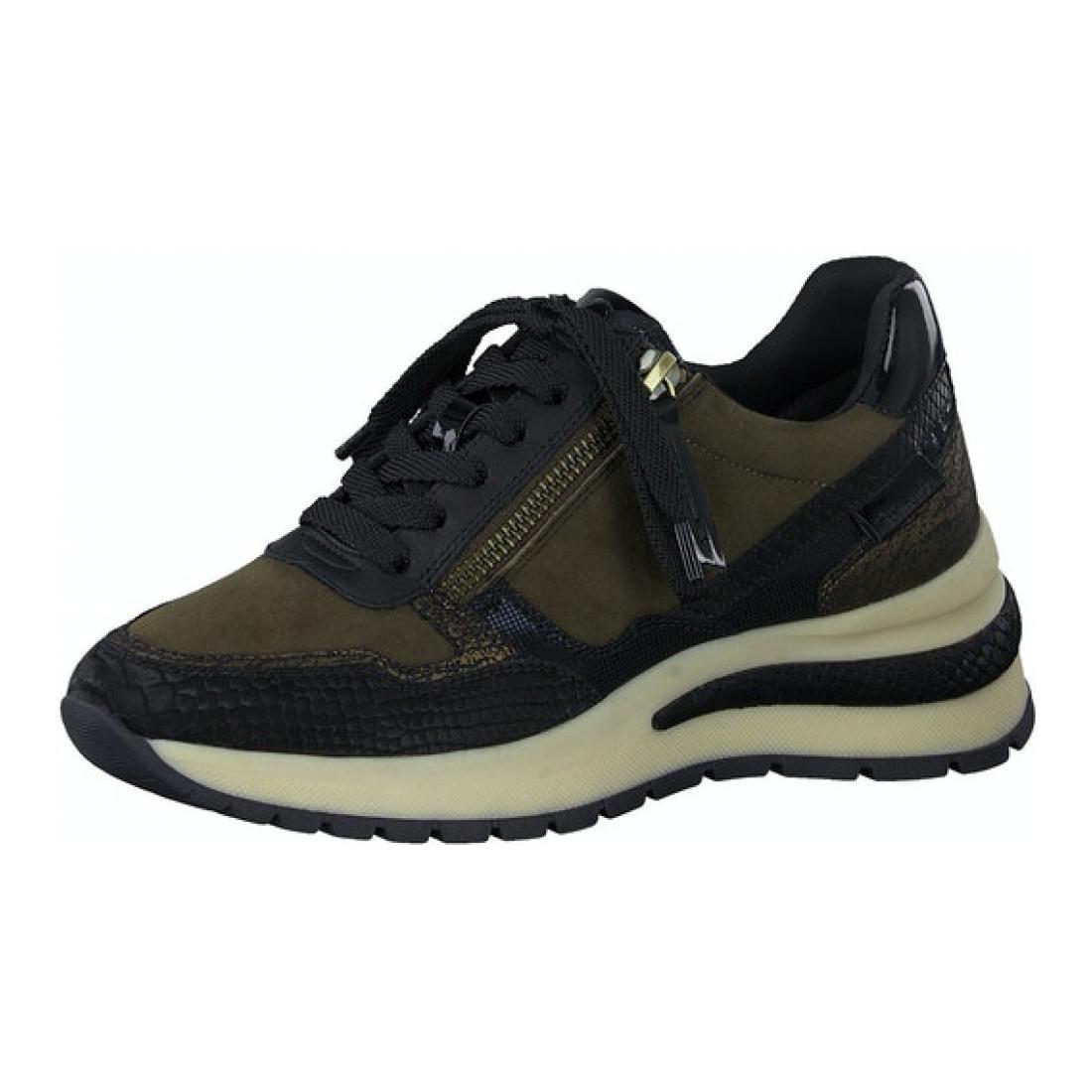 Tamaris Sneaker Olive Comb