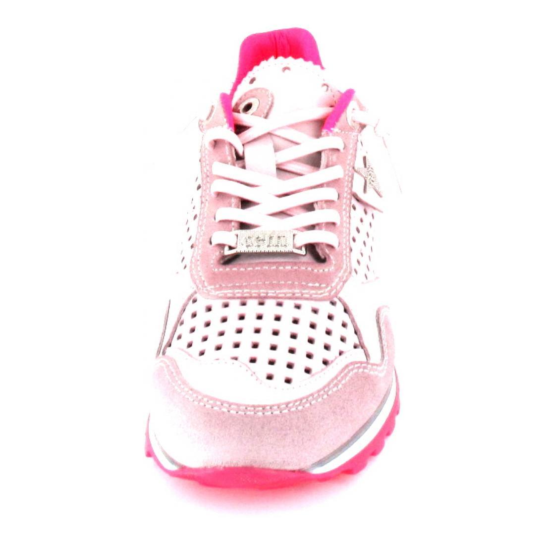 Cetti Sneaker nature tin rosa fucsia