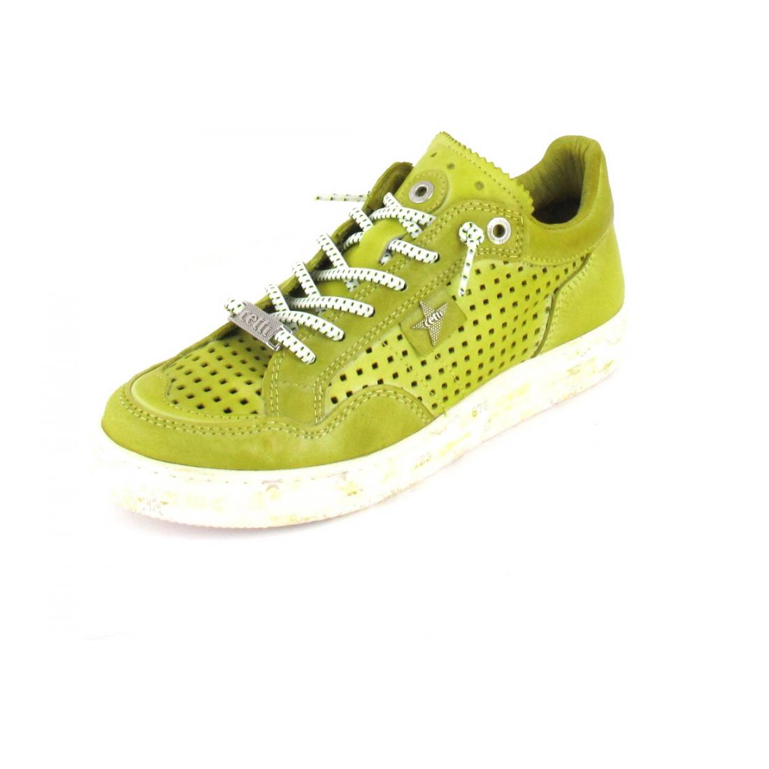 Cetti Sneaker nature tin lime