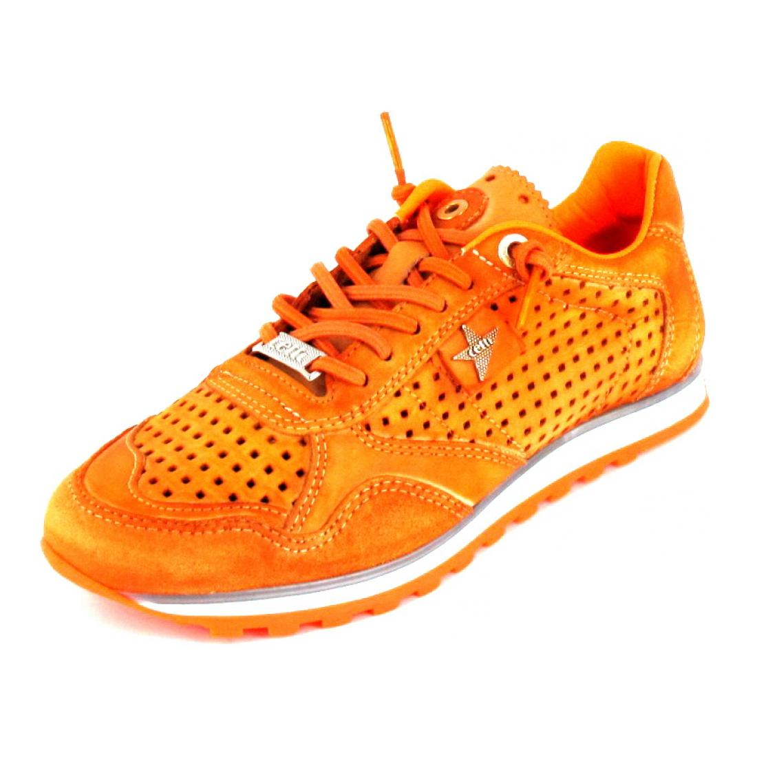 Cetti Sneaker nature tin ambar orange