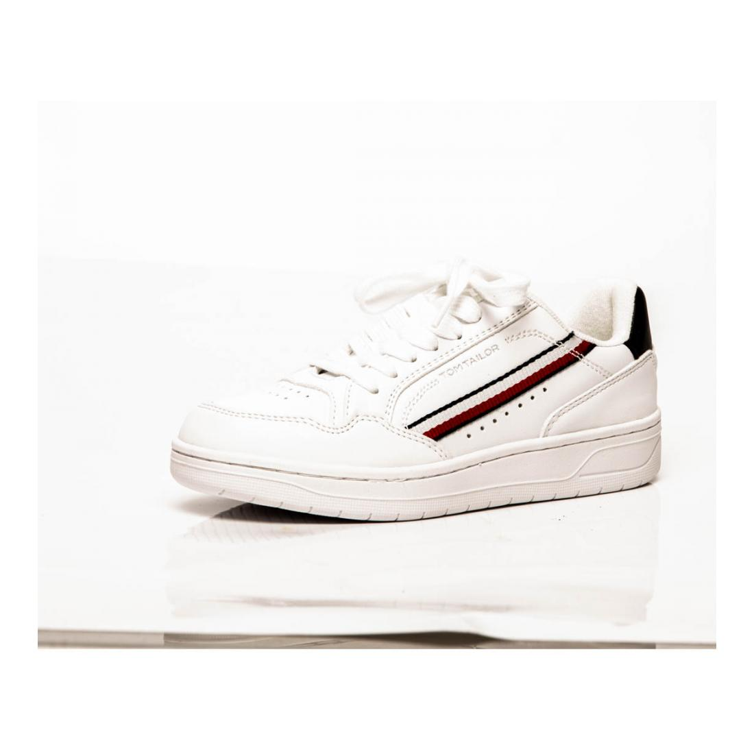 Tom Tailor Sneaker white