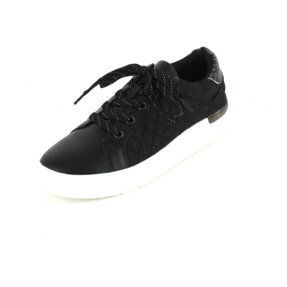 La Strada Sneaker Black Rolo Stitch