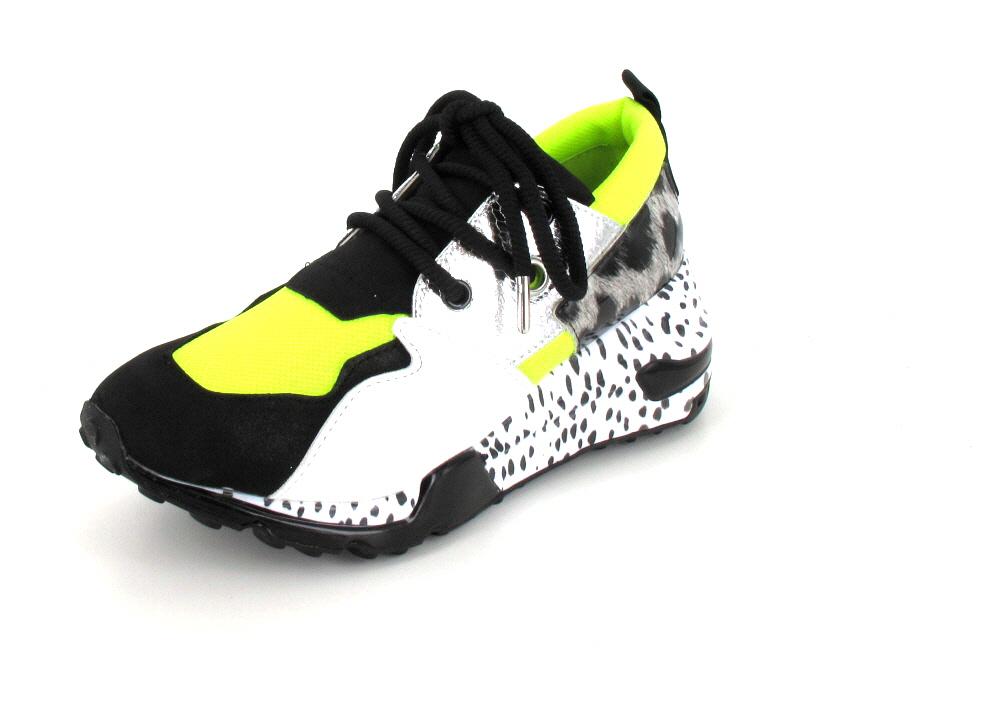 Steve Madden Sneaker Cliff Neon Green