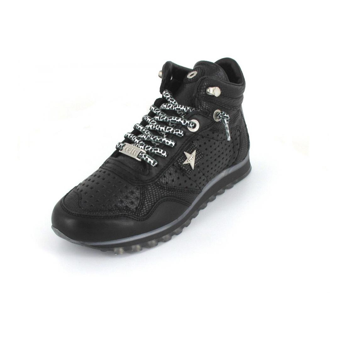 Cetti Sneaker high sweet all black
