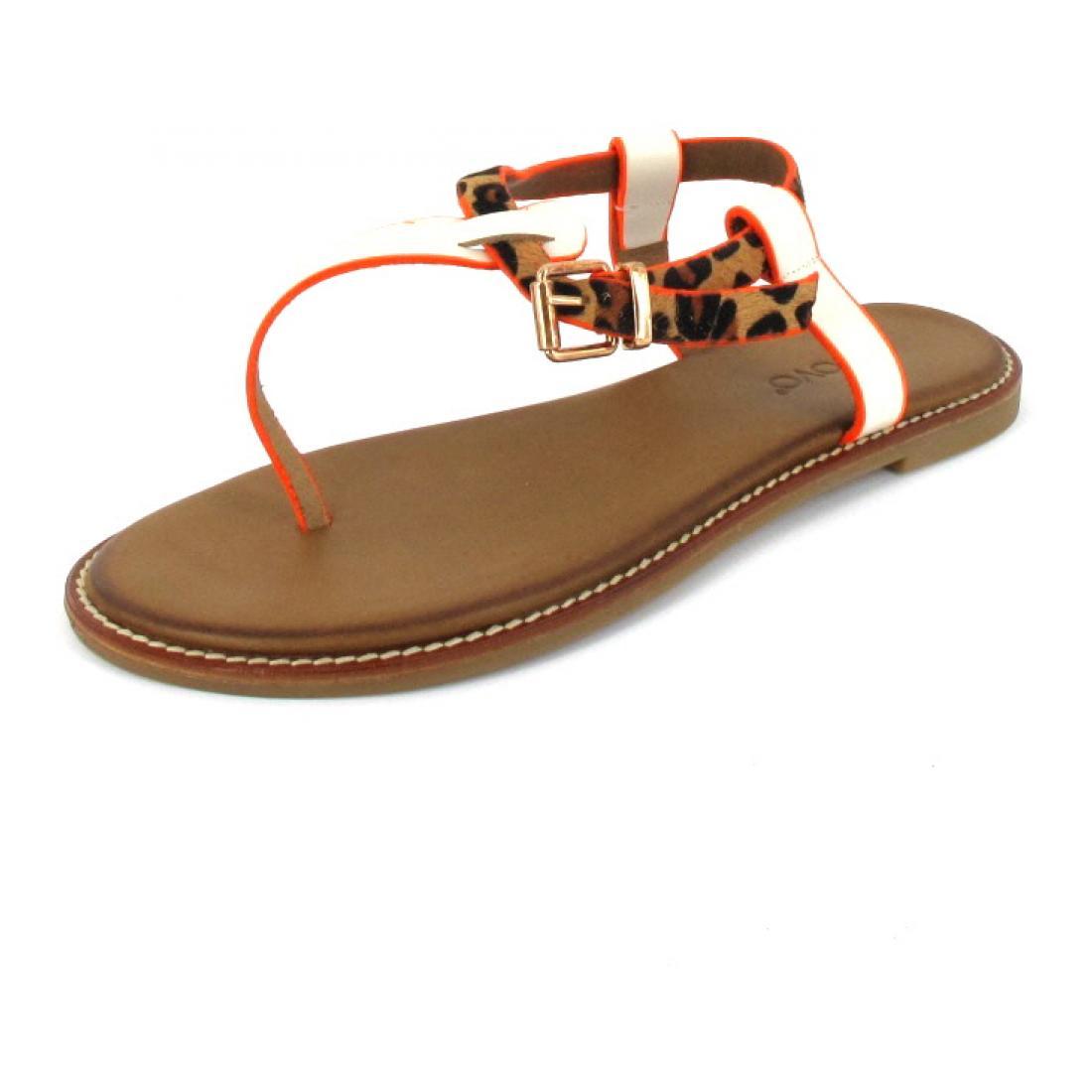 Inuovo Sandale Sandals Bone-Leo-Neon Ora