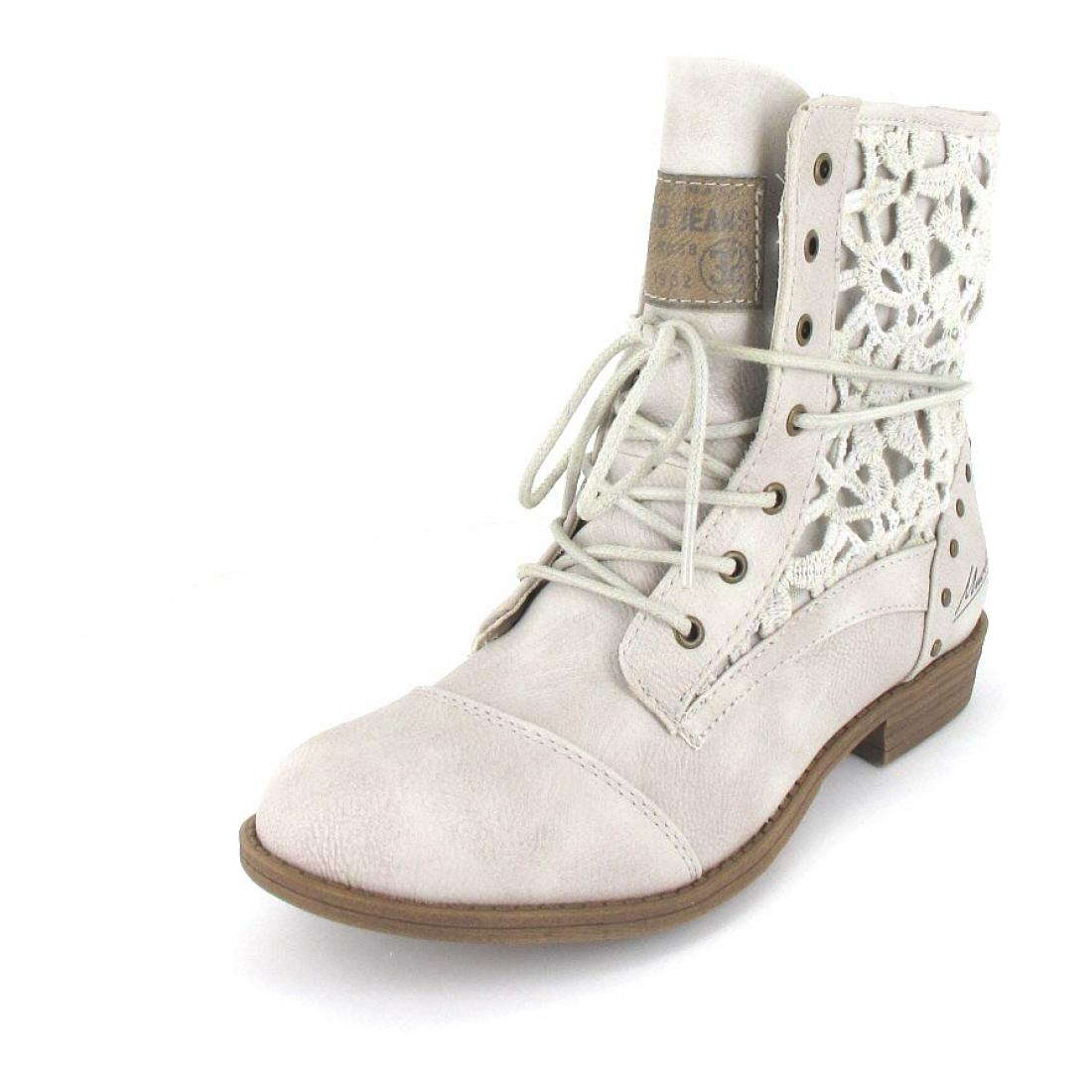 Mustang Stiefelette ice