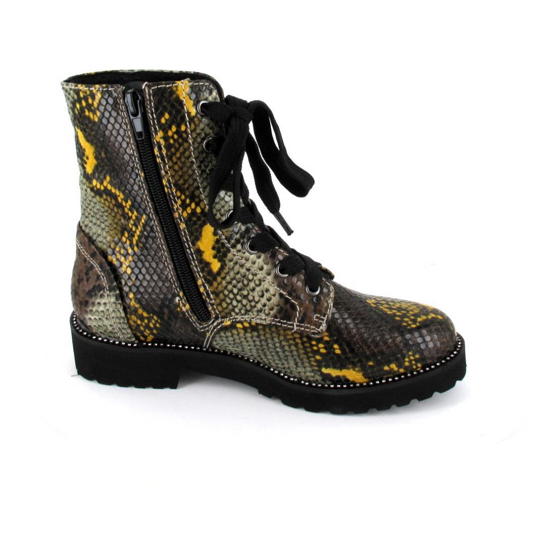 La Strada Stiefelette Snake Yellow