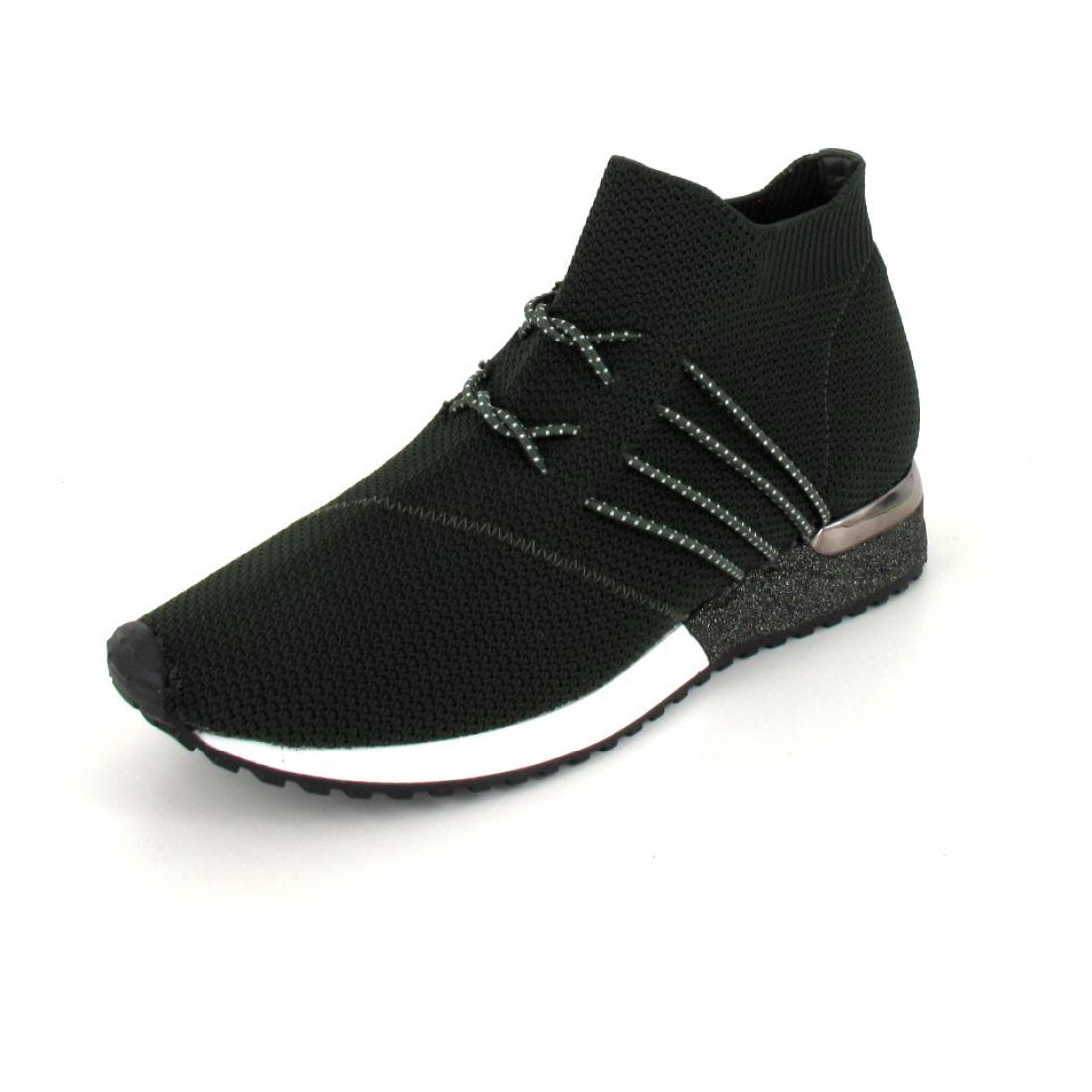 La Strada  Mid High Sneaker kaki Kni