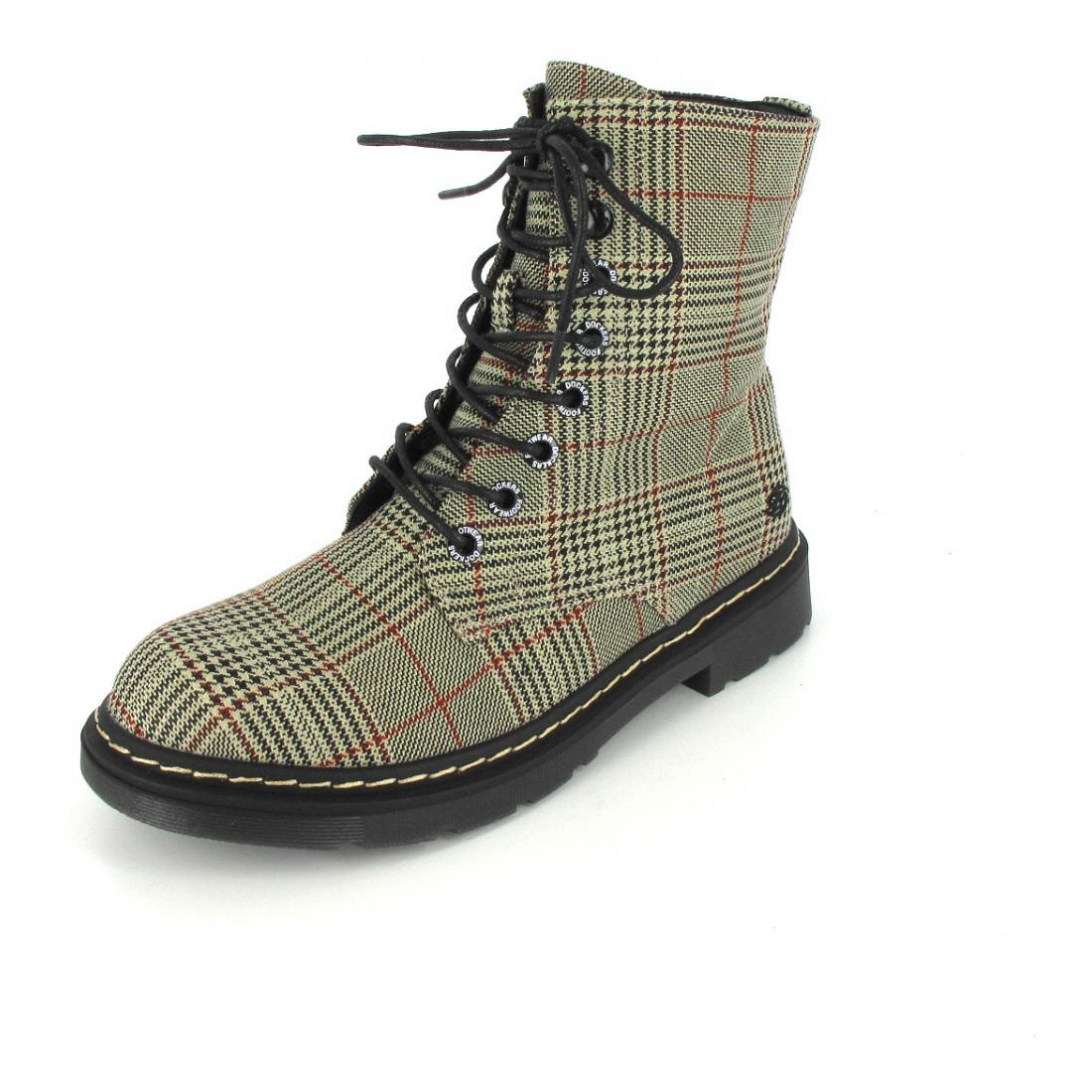 Dockers Boots 301 Braun/Schwarz