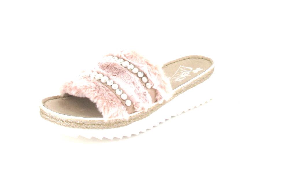 Rieker Pantolette rosa