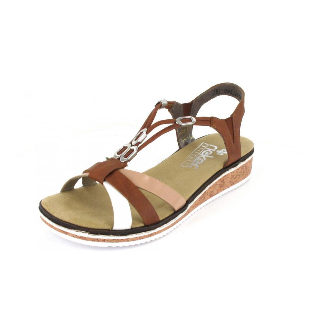 Rieker Sandale bianco