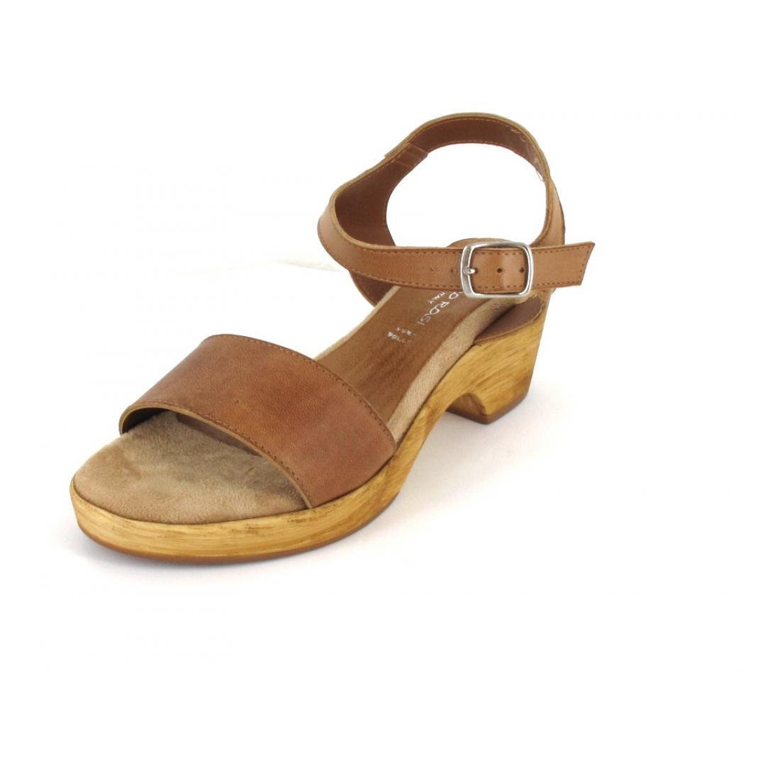 Sandy Shoes Sandale Vitello cuoio