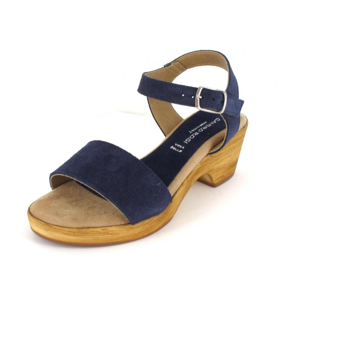 Sandy Shoes Sandale Crosta Sacamoscia blu
