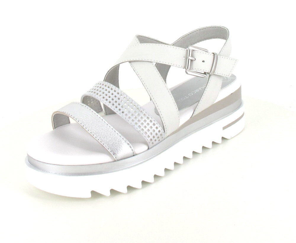 Marco Tozzi Sandale WHITE COMB