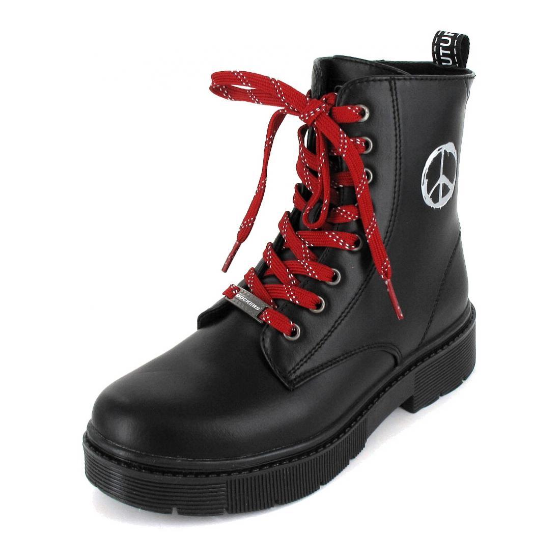 Dockers Boots schwarz