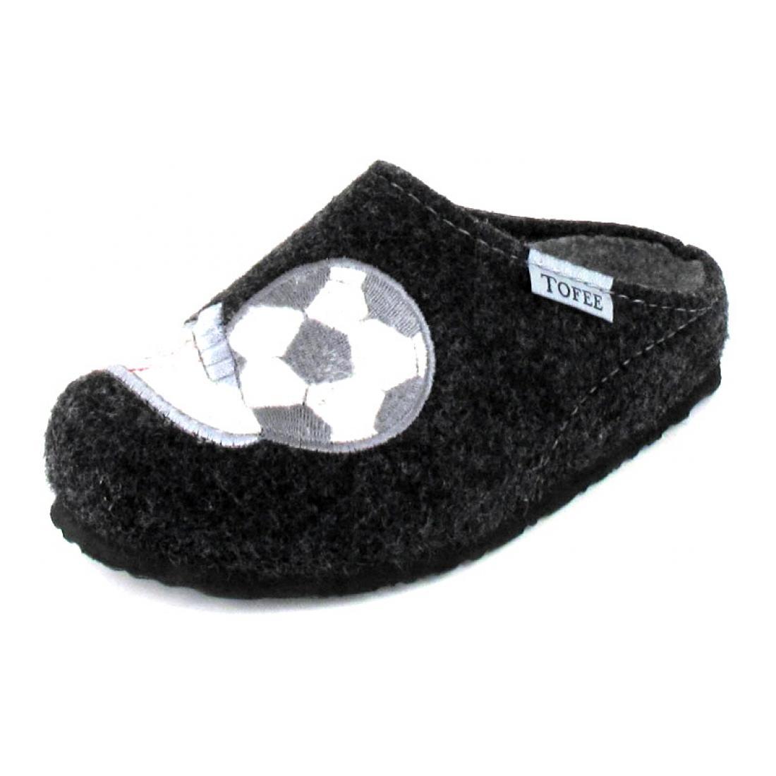 Tofee Hausschuh Fußball