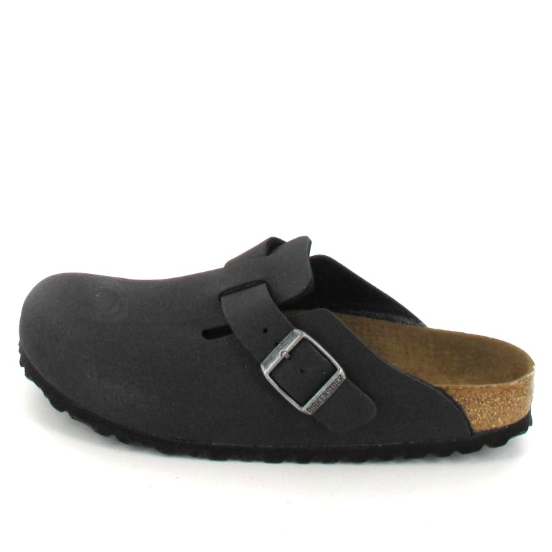 Birkenstock BOSTON Hausschuh black Herren Schuhe