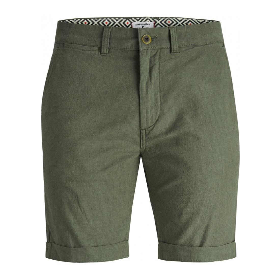 Jack & Jones Bermuda/Shorts Herren JJILINEN JJCHINO SHORTS A