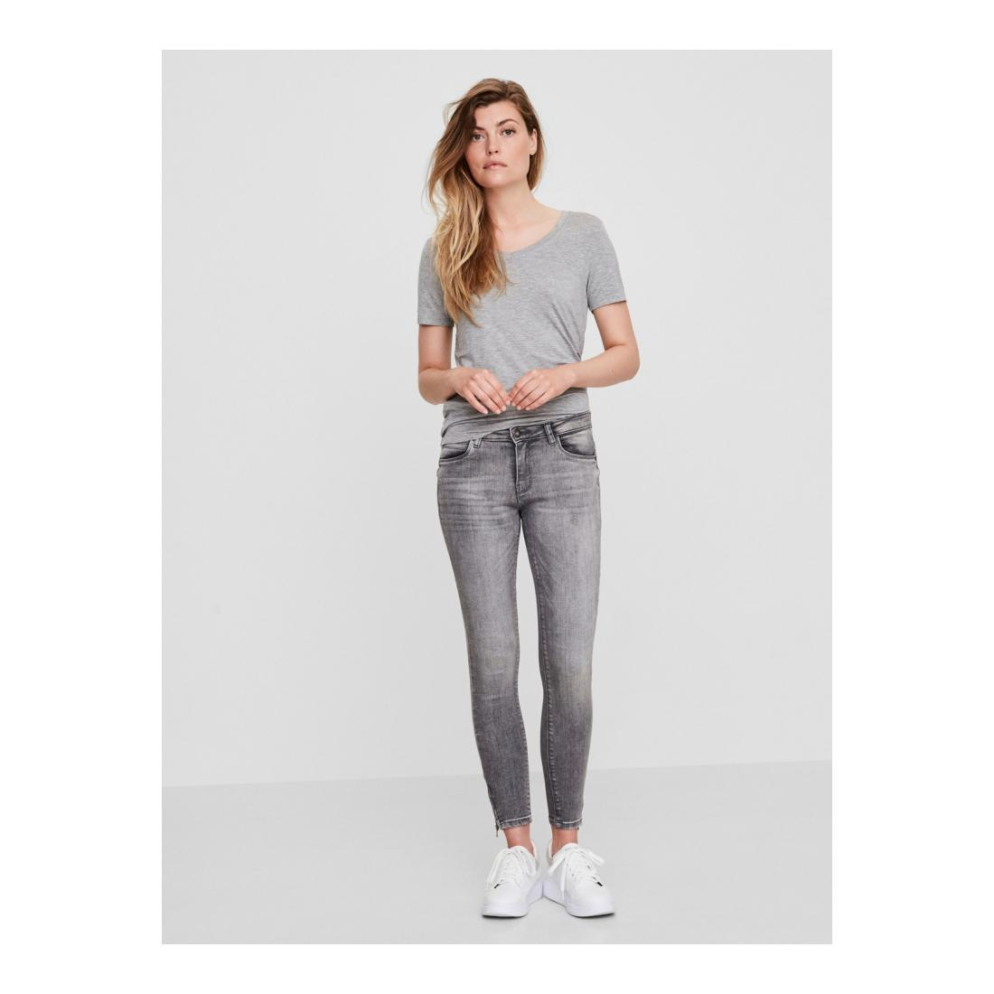 Noisy May Jeans Damen NMKIMMY NW ANKL ZIP JNS A