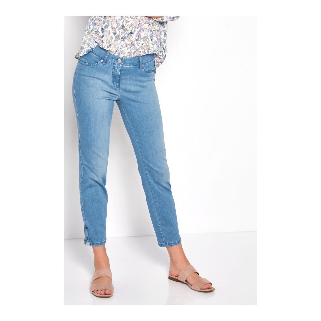 TONI DRESS Jeans Damen Perfect Shape Zip 7/