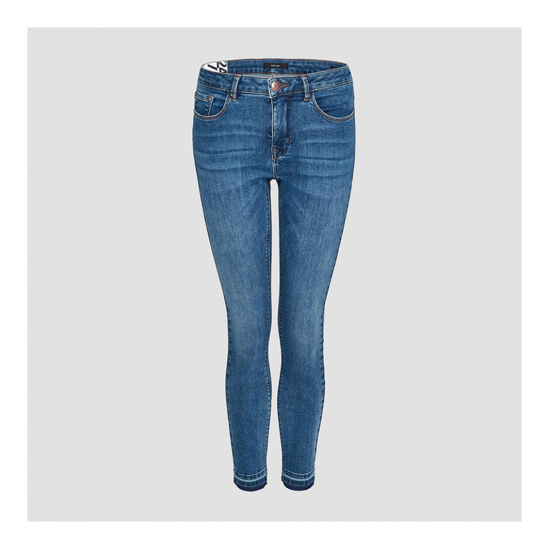 Opus Jeans Damen Elma tinted blue