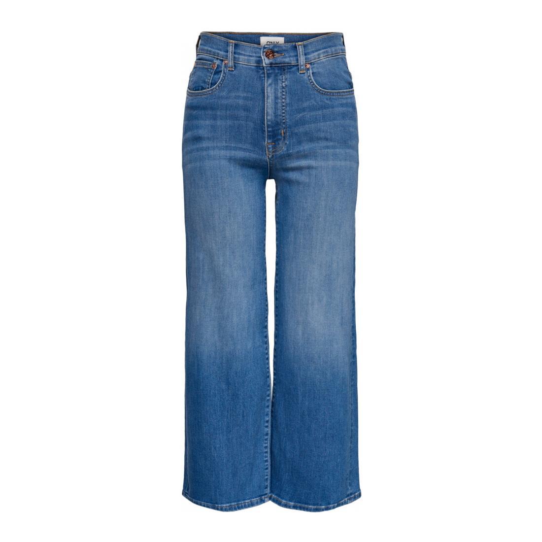Only Jeans Damen ONLMADISON HW WD CROP B D
