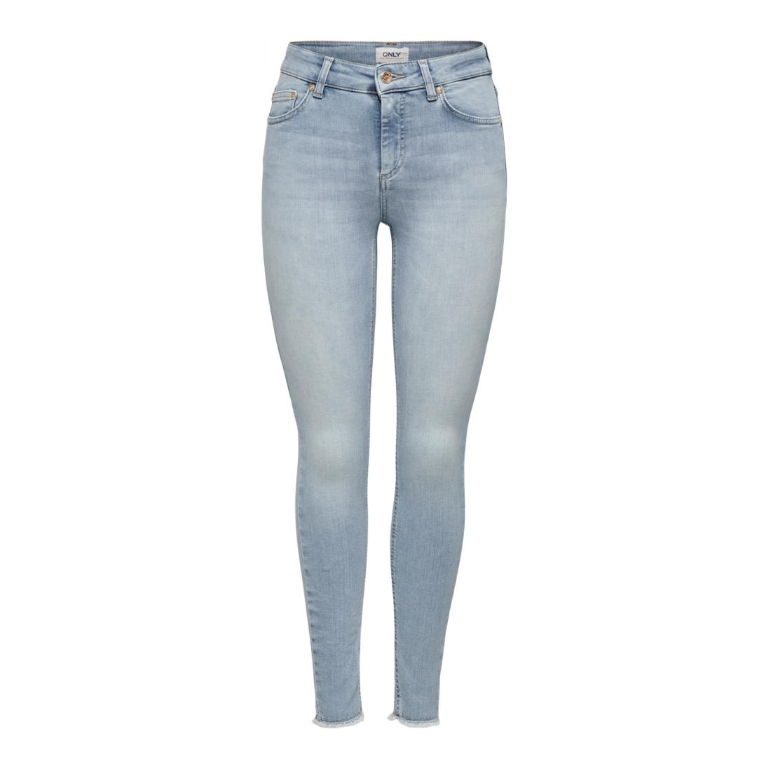 Only Jeans Damen ONLBLUSH LIFE MID SK ANK