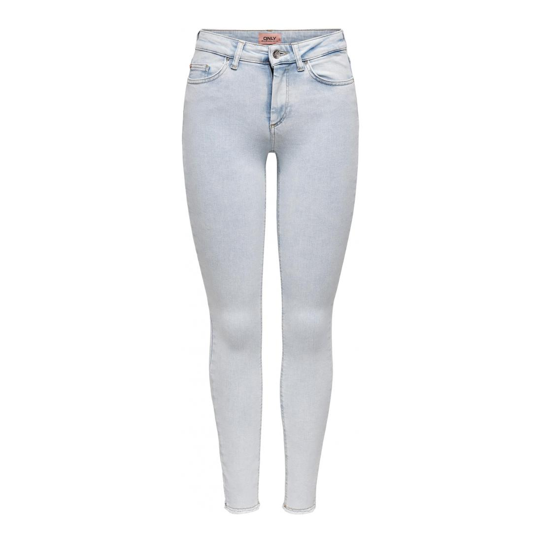 Only Jeans Damen ONLBLUSH LIFE MID SK RAW