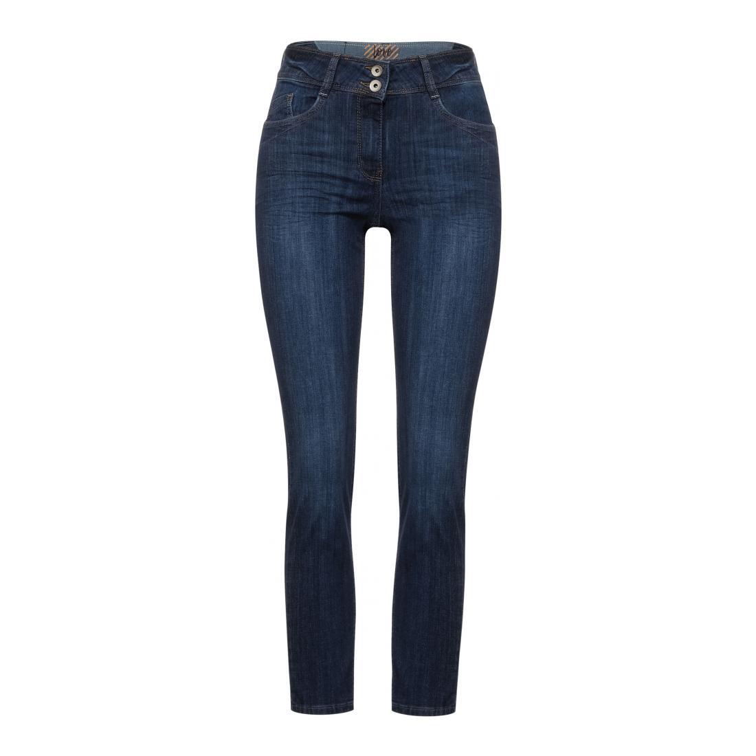 Cecil Jeans Damen Style NOS Toronto Mid Blu