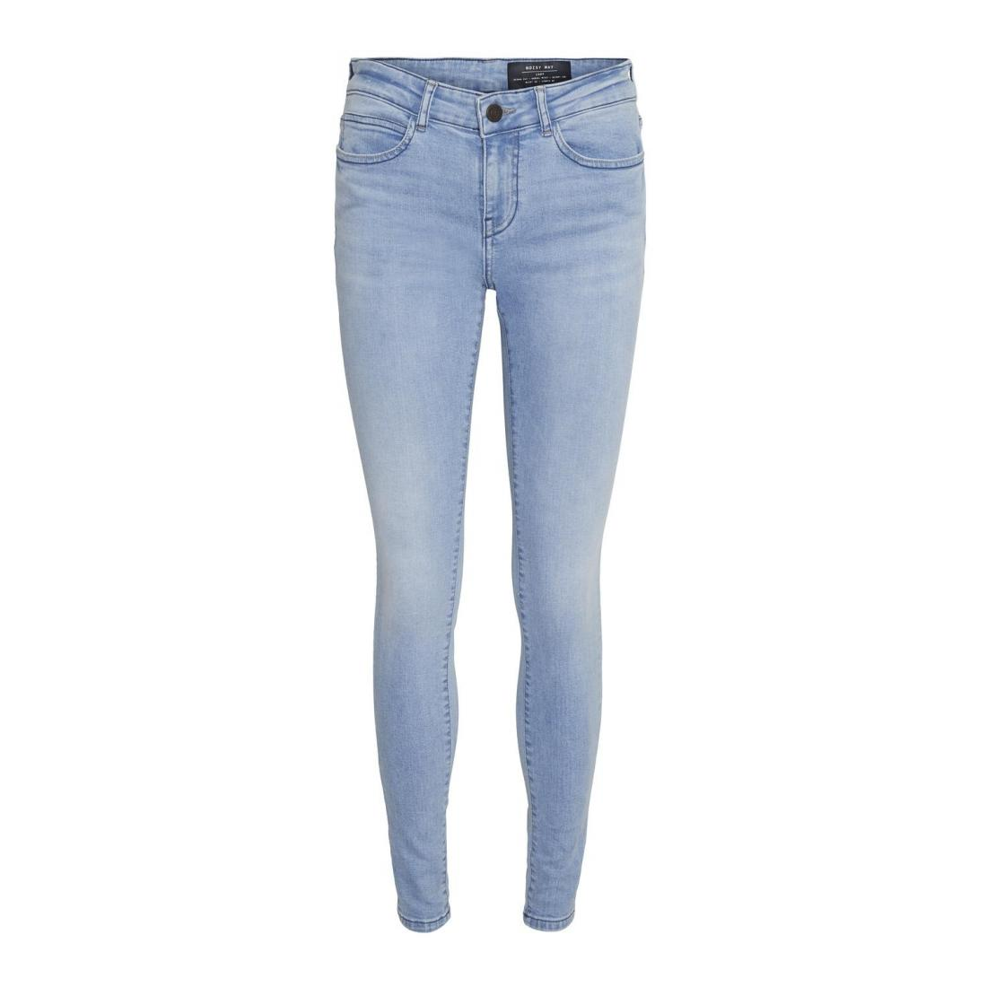 Noisy May Jeans Damen NMLUCY NW SKINNY JEANS LB