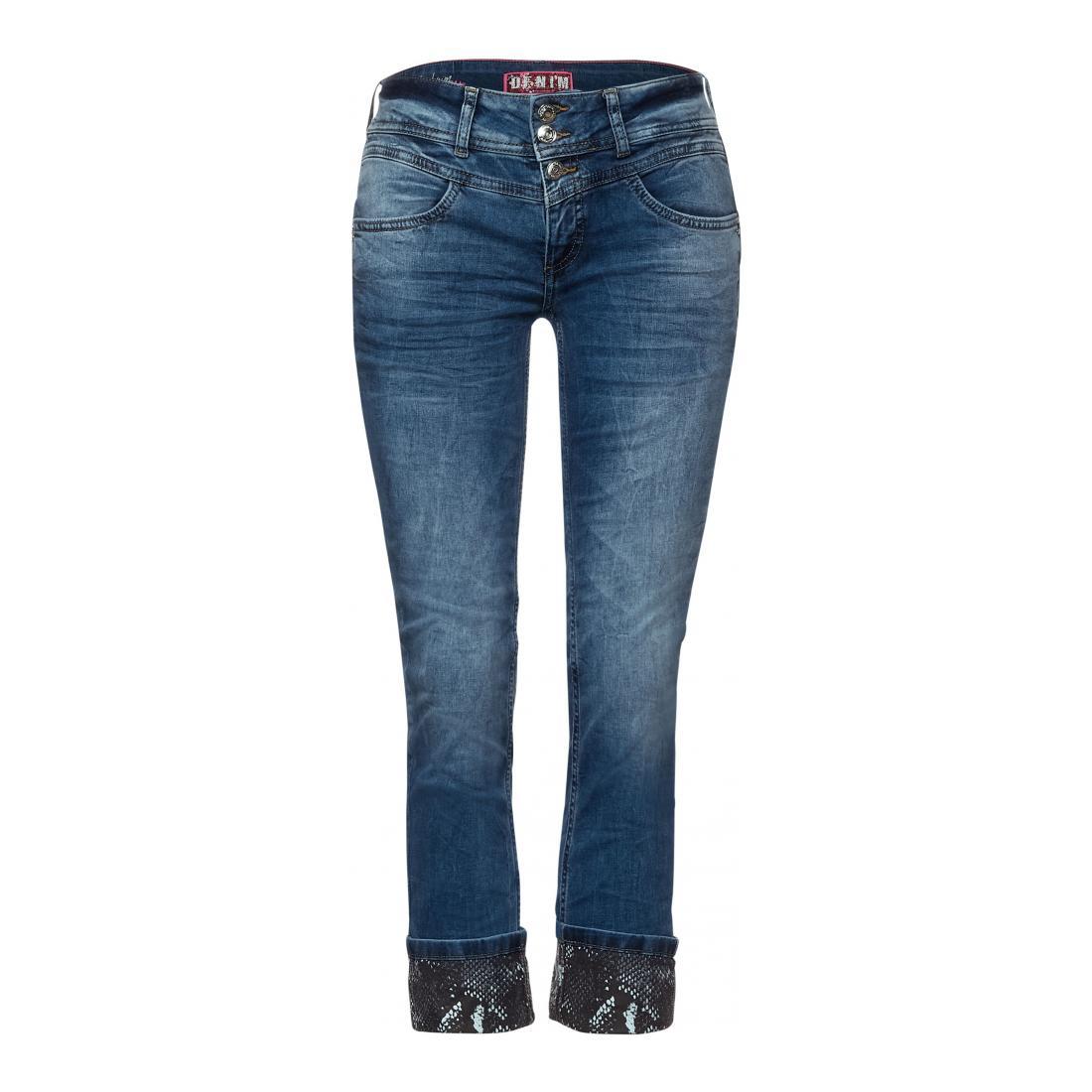 Street One Jeans Damen Style LTD QR Jane blue