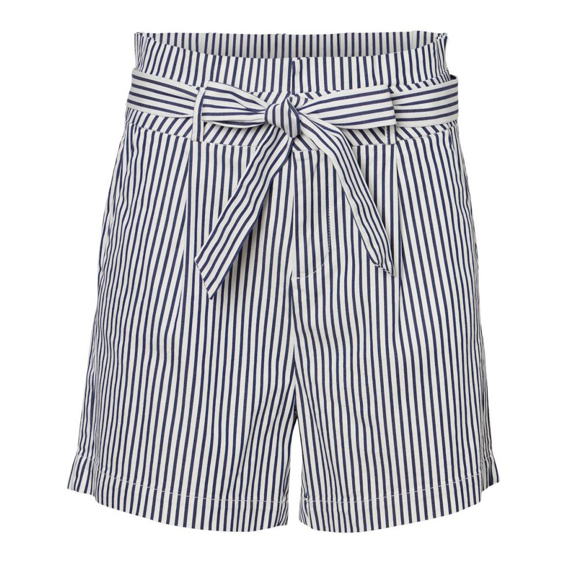 Vero Moda Bermuda/Shorts Damen VMEVA HR PAPERBAG COT PS