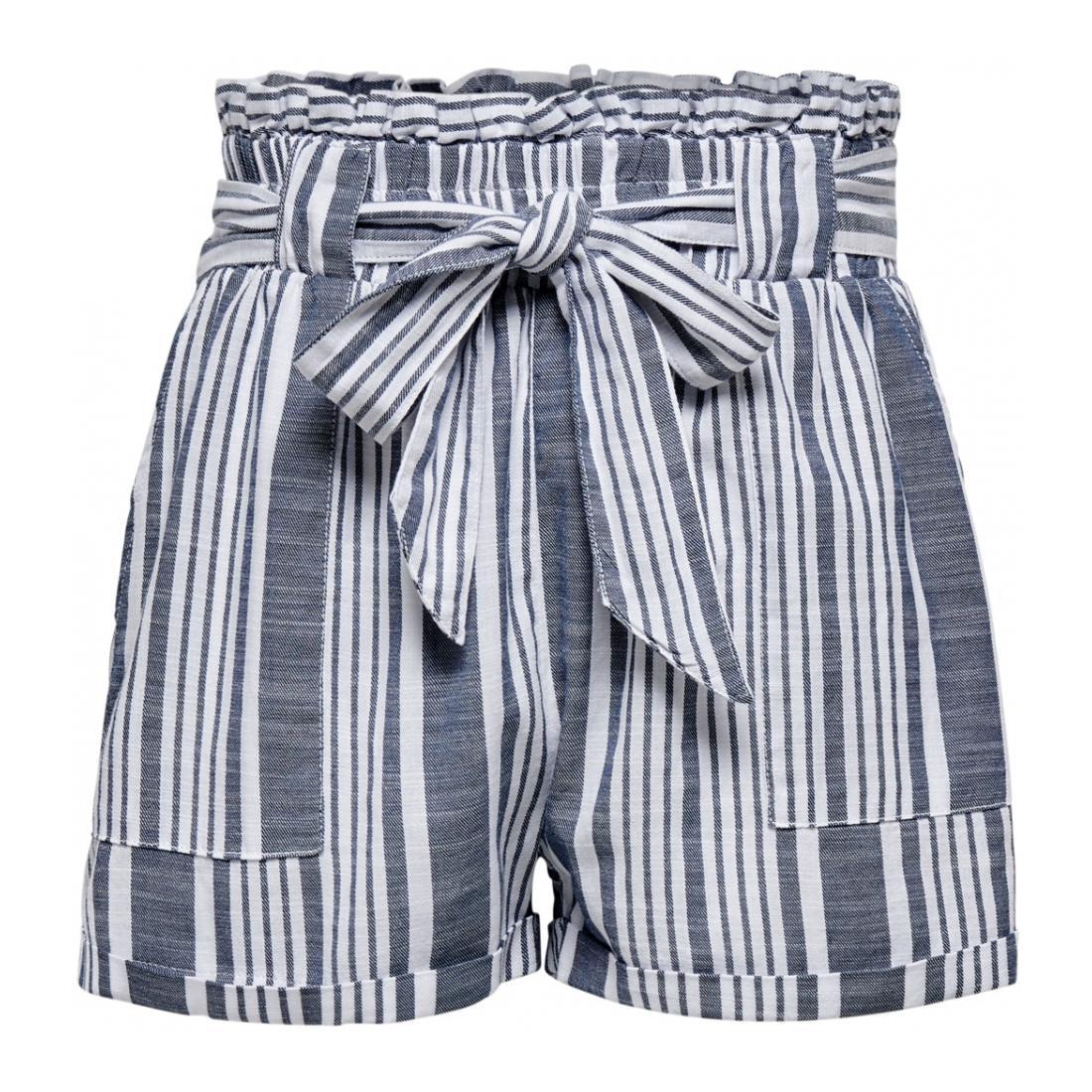 Only Bermuda/Shorts Damen ONLLAVANA STRIPE DNM PAPE