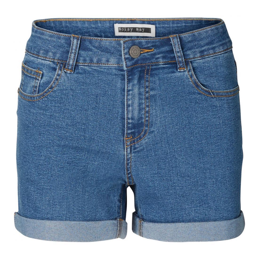 Noisy May Bermuda/Shorts Damen NMBE LUCY NR DEN FOLD SHO