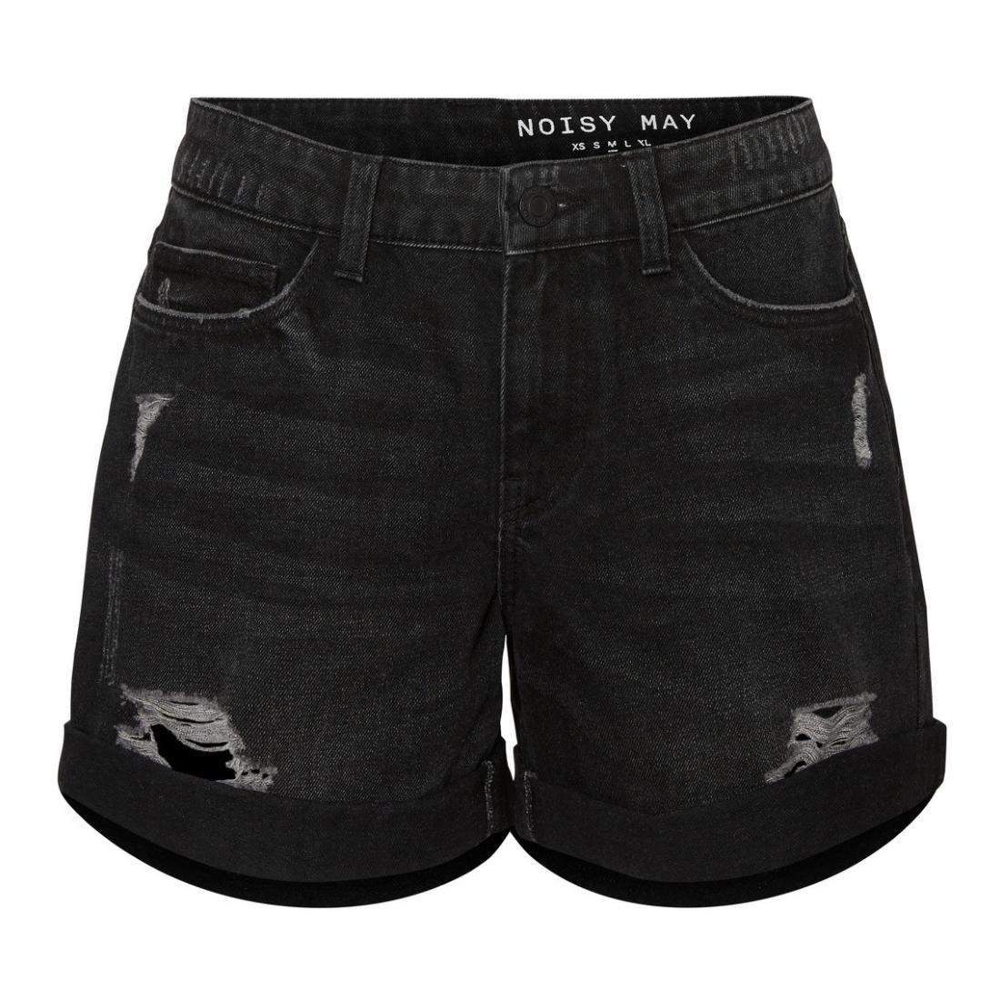 Noisy May Bermuda/Shorts Damen NMSMILEY NW DEST SHORTS V