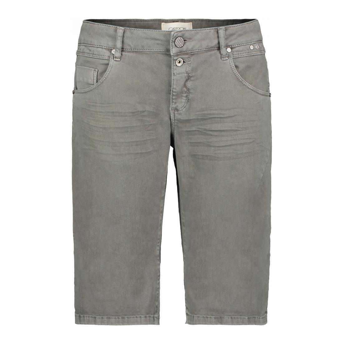 Cartoon Bermuda/Shorts Damen Shorts Jeans