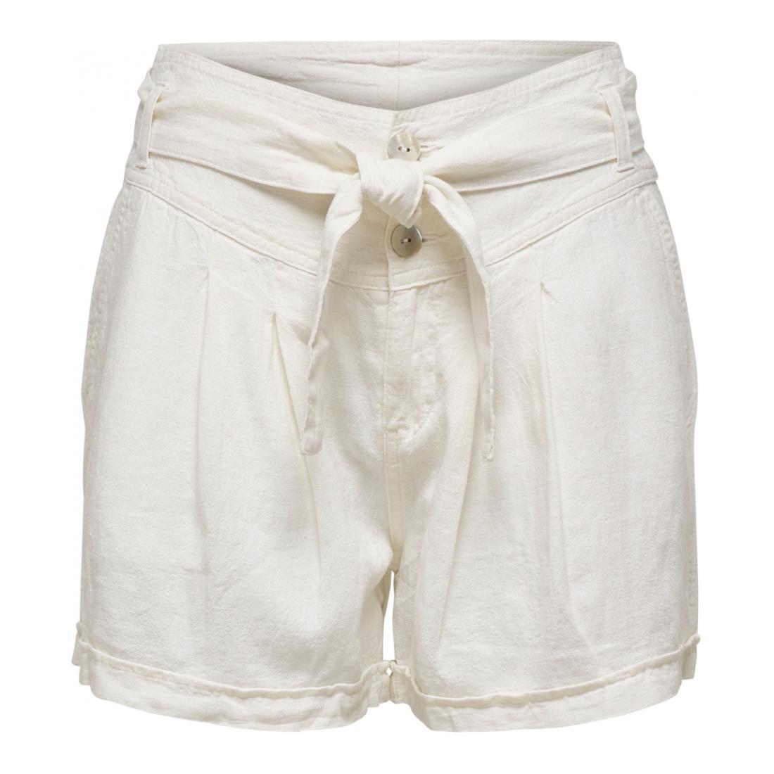 Only Bermuda/Shorts Damen ONLALFINA PAPERBAG SHORTS