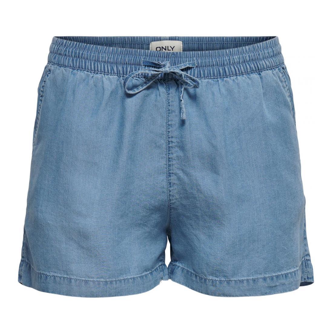 Only Bermuda/Shorts Damen ONLPEMA LYOCELL LIFE DNM