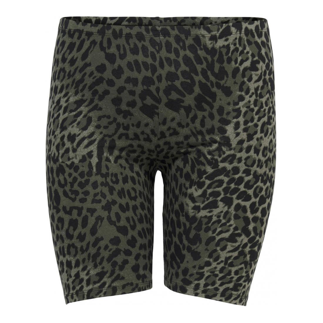 Only Carmakoma Bermuda/Shorts Damen CARTIME SHORTS AOP