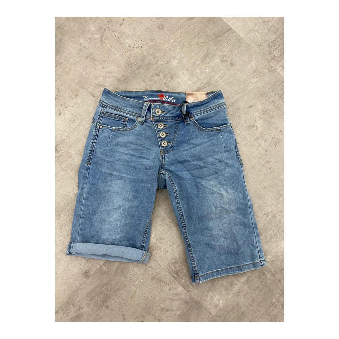 Buena Vista Bermuda/Shorts Damen Malibu-Short stretch deni