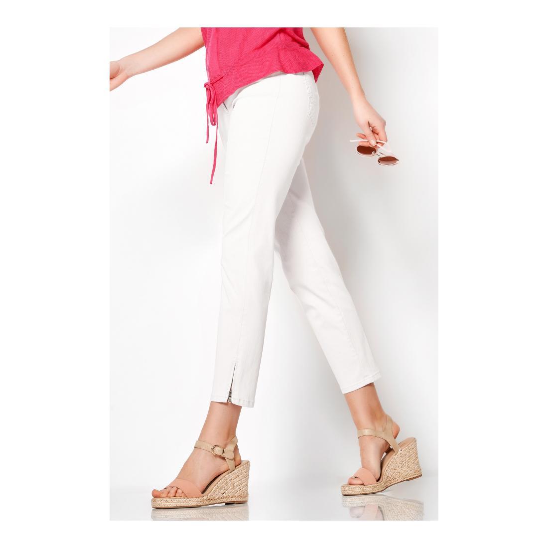 TONI DRESS Freizeithosen Damen Perfect Shape Zip 7/