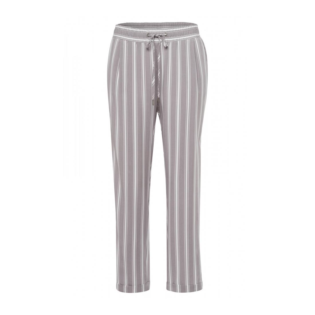 More & More Joggingpants/Leggins Damen Striped Tencel Jogg Pants