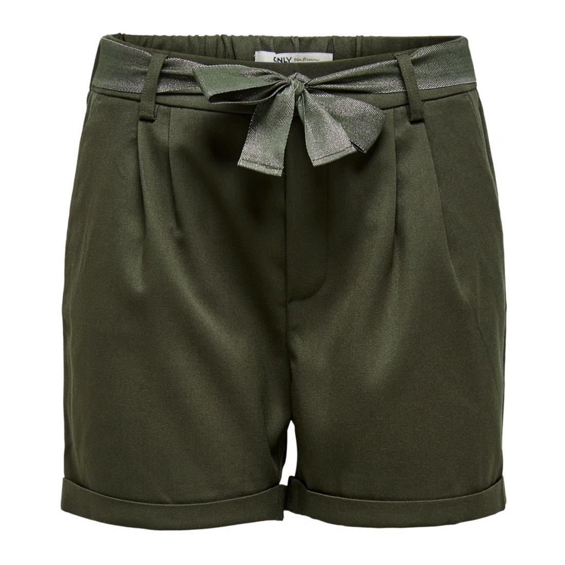 Only Bermuda/Shorts Damen ONLRITA LOOSE LYREX BELT