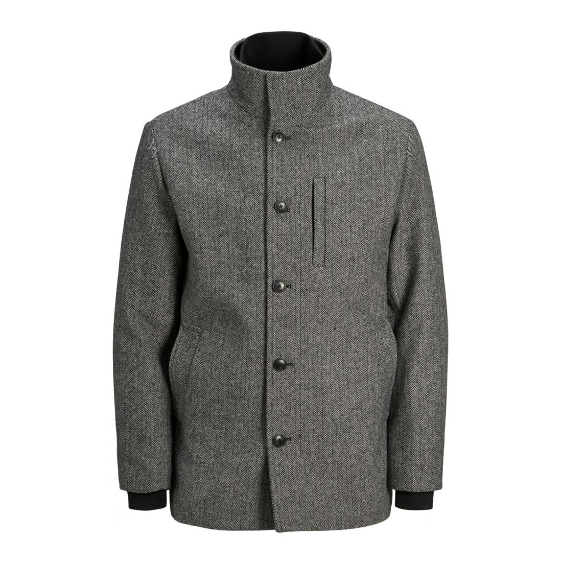 Jack & Jones Jacke lang Herren JJDUAL WOOL JACKET