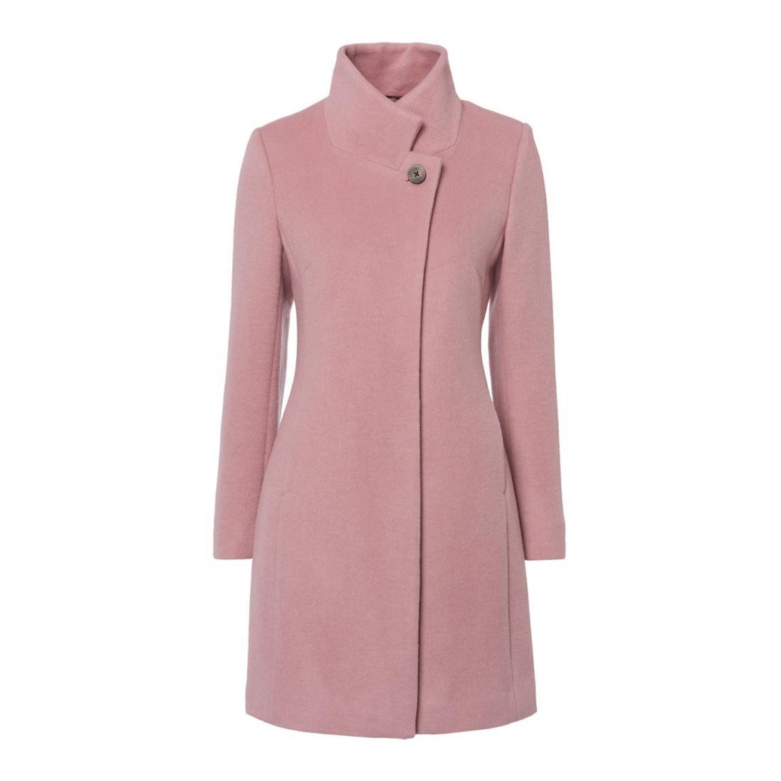 Zero Mantel Damen Woolcoat, Halfbelt